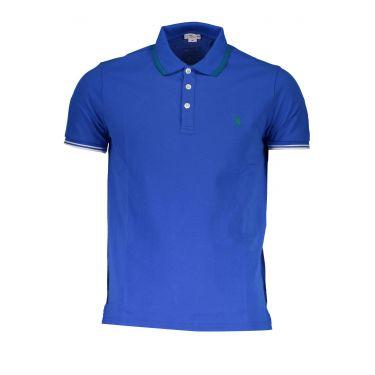 Polo à manches courtes Bleu-637