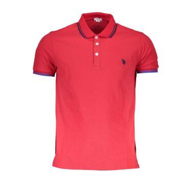 Polo à manches courtes Rouge-655