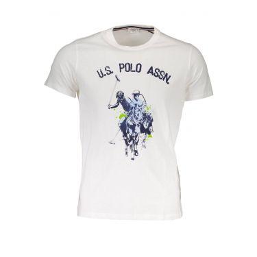 T-Shirt à manches courtes Blanc-301