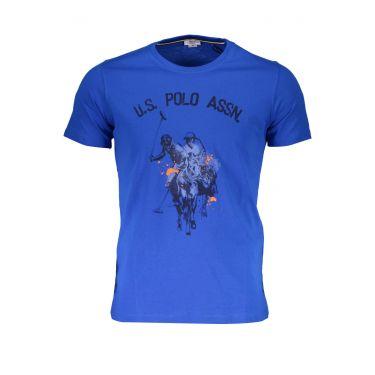 T-Shirt à manches courtes Bleu-337