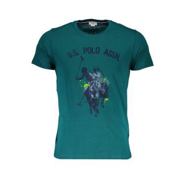 T-Shirt à manches courtes Vert-348