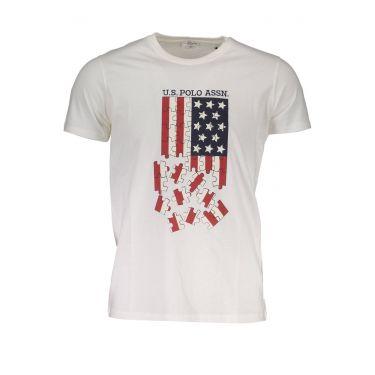 T-Shirt à manches courtes Blanc-401
