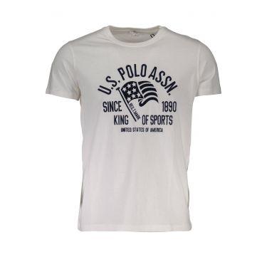 T-Shirt à manches courtes Blanc-501
