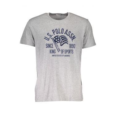 T-Shirt à manches courtes Gris-588