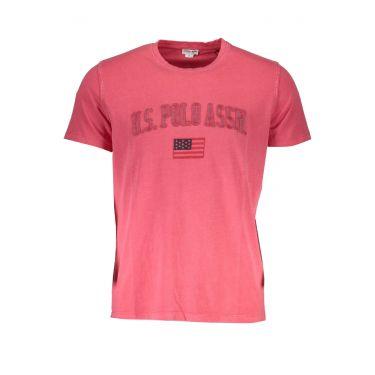 T-Shirt à manches courtes Rouge-015