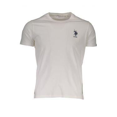 T-Shirt à manches courtes Blanc-801