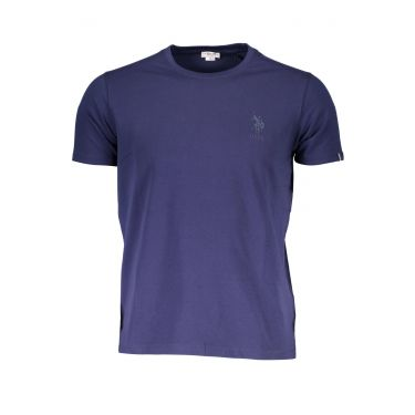 T-Shirt à manches courtes Bleu-877