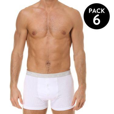 Pack de 6 Boxer Blanc-359