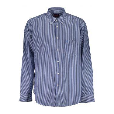 Chemise à manches courtes Bleu-BL