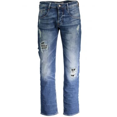 Jeans Denim Bleu
