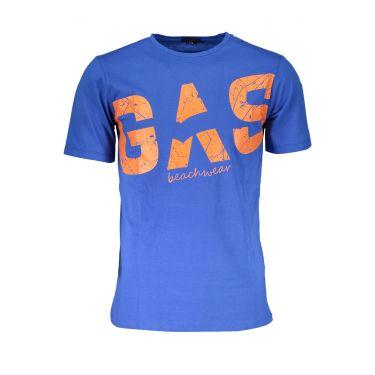 T-Shirt Letters Bleu