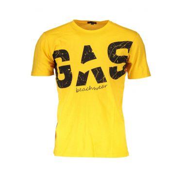T-Shirt Letters Jaune