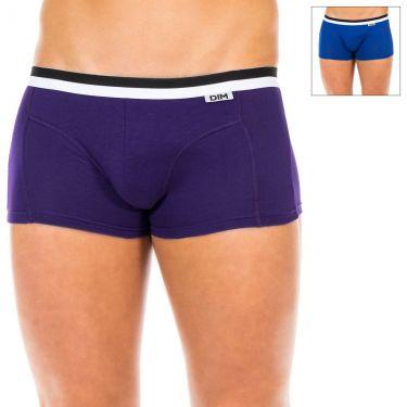 Pack de 2 Boxer Violet & Bleu-D05H2