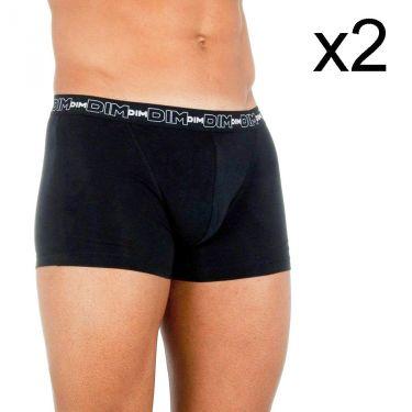 Pack de 2 Boxer Noir-D6596