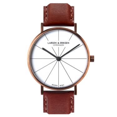 ROSEGOLD - WHITE - BROWN (41 MM)