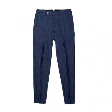 COOPER TROUSERS BLUE DENIM